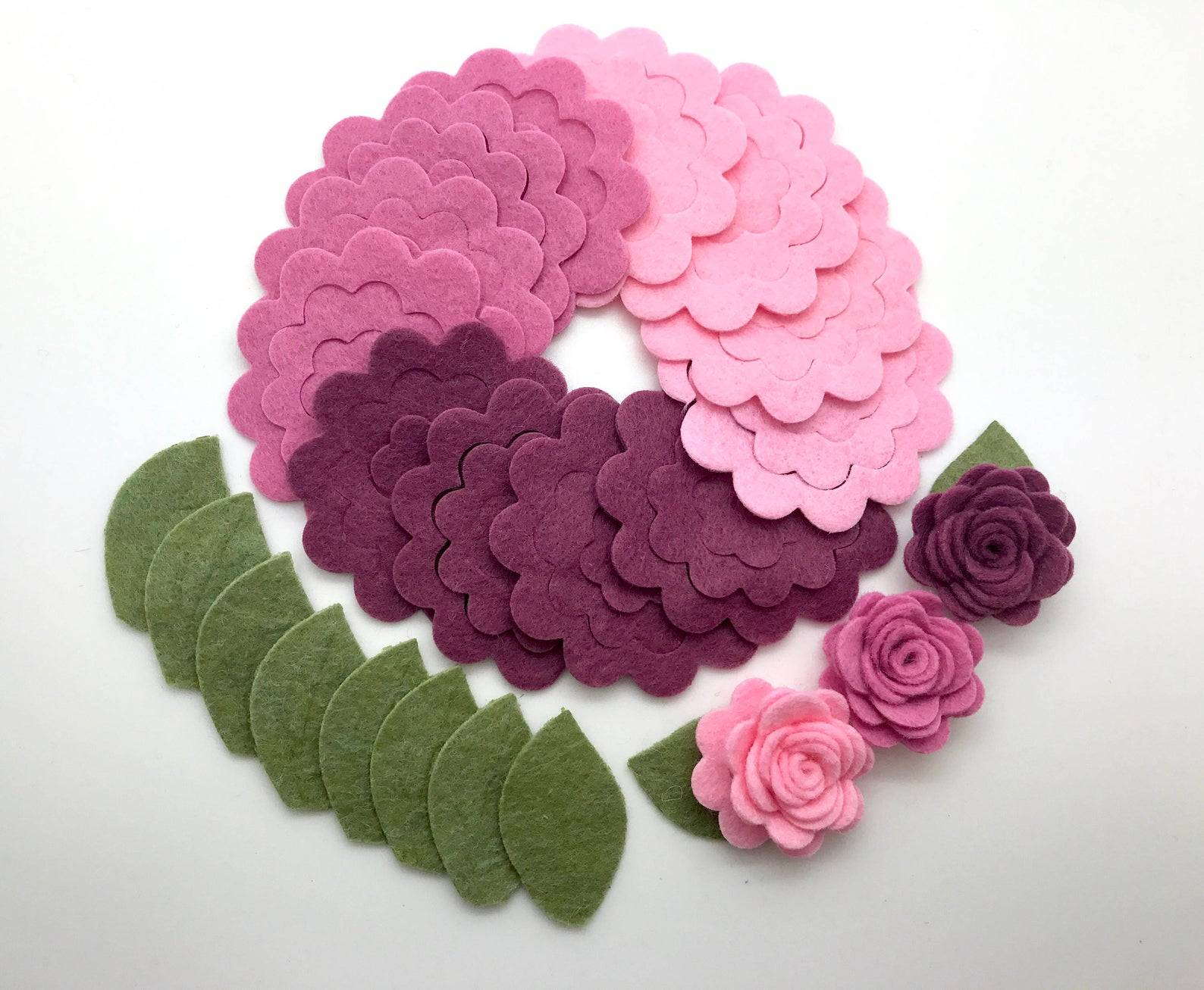 Цветы из фетра — удовольствие творить и дарить