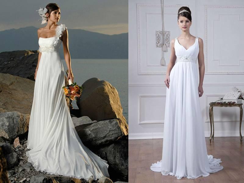 Свадебные платья в греческом стиле — почувствуйте себя богиней