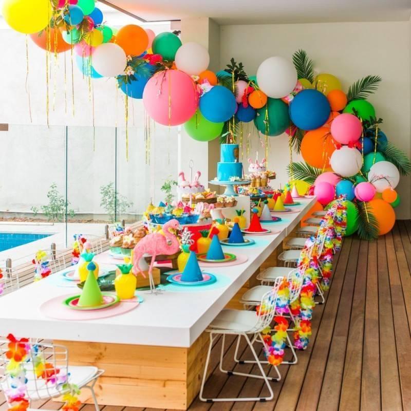 Все об оформлении детского дня рождения