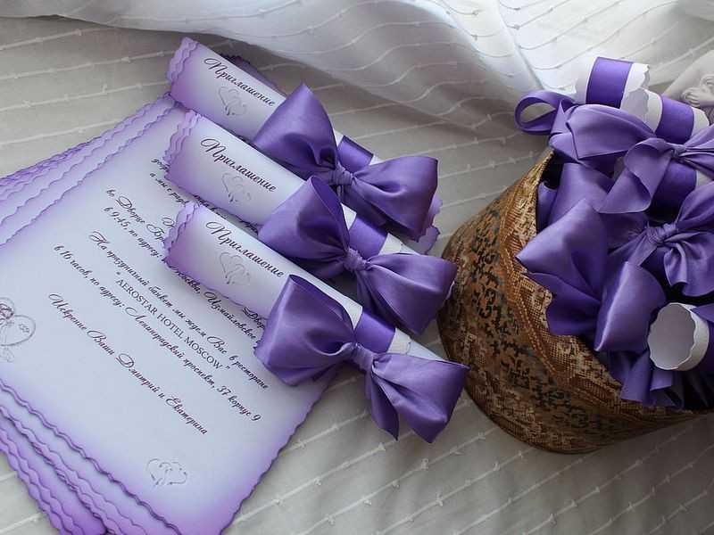 Приглашения на свадьбу своими руками, или Визитка торжества, которую хранят всю жизнь