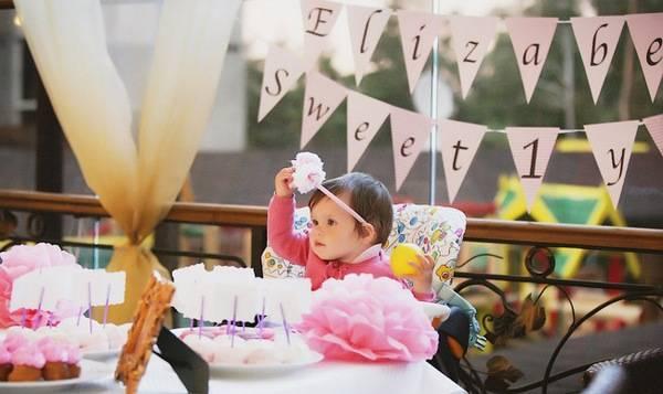 «Годомания» бывает только раз, или Как отметить годик ребенку