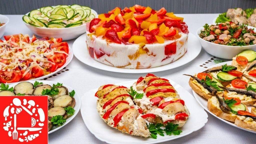 Простые салаты на день рождения – оригинальное меню без особых затрат