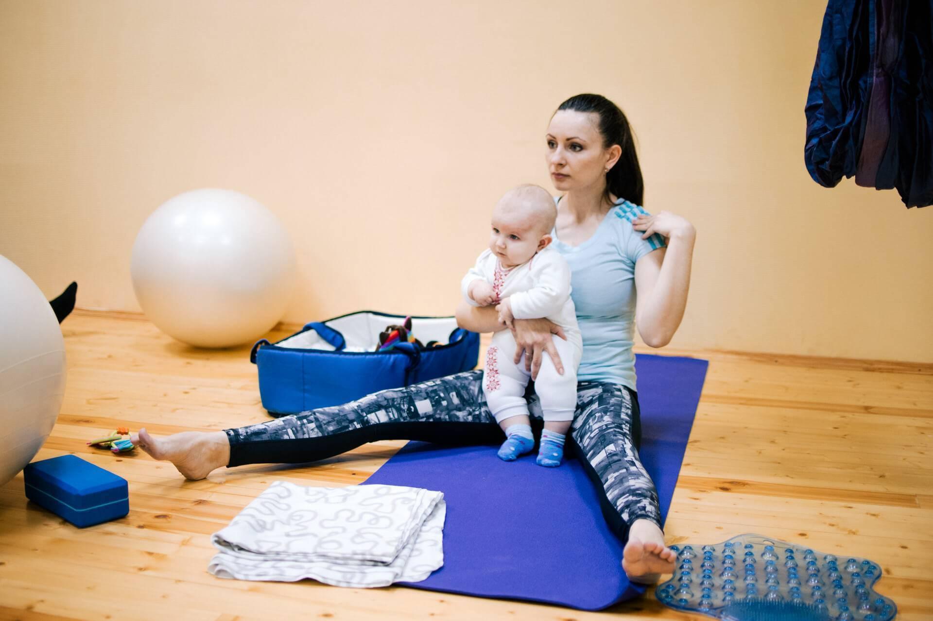 Занятие спортом после родов