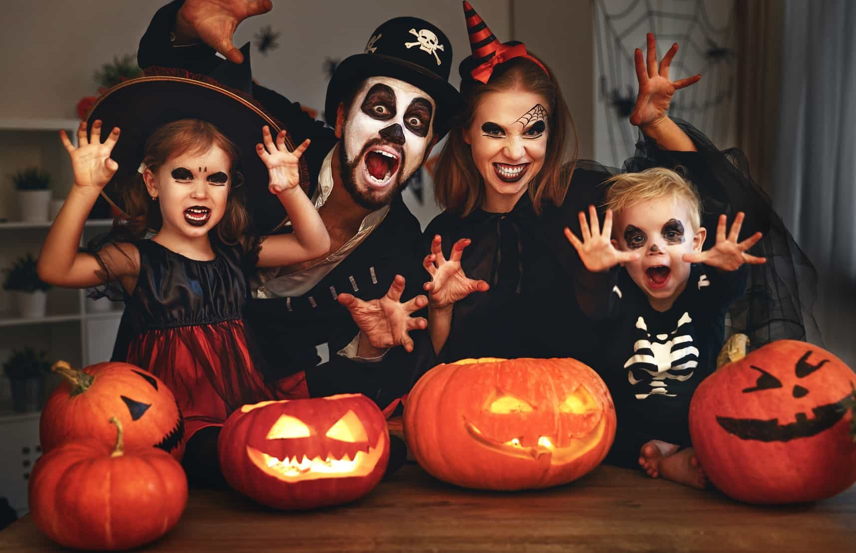 """Сценарий Хэллоуин для молодежи """"Кошмарной ночи"""""""