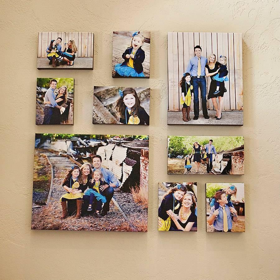 Фотоколлаж своими руками для оригинального подарка и украшения интерьера
