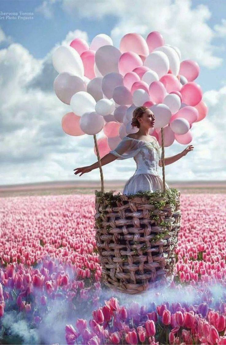 Шары из цветов — сотворите праздник!