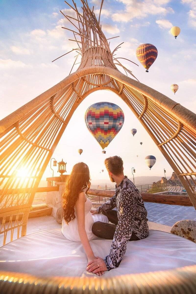 Для авантюристов и любителей приключений — свадьба в стиле путешествия