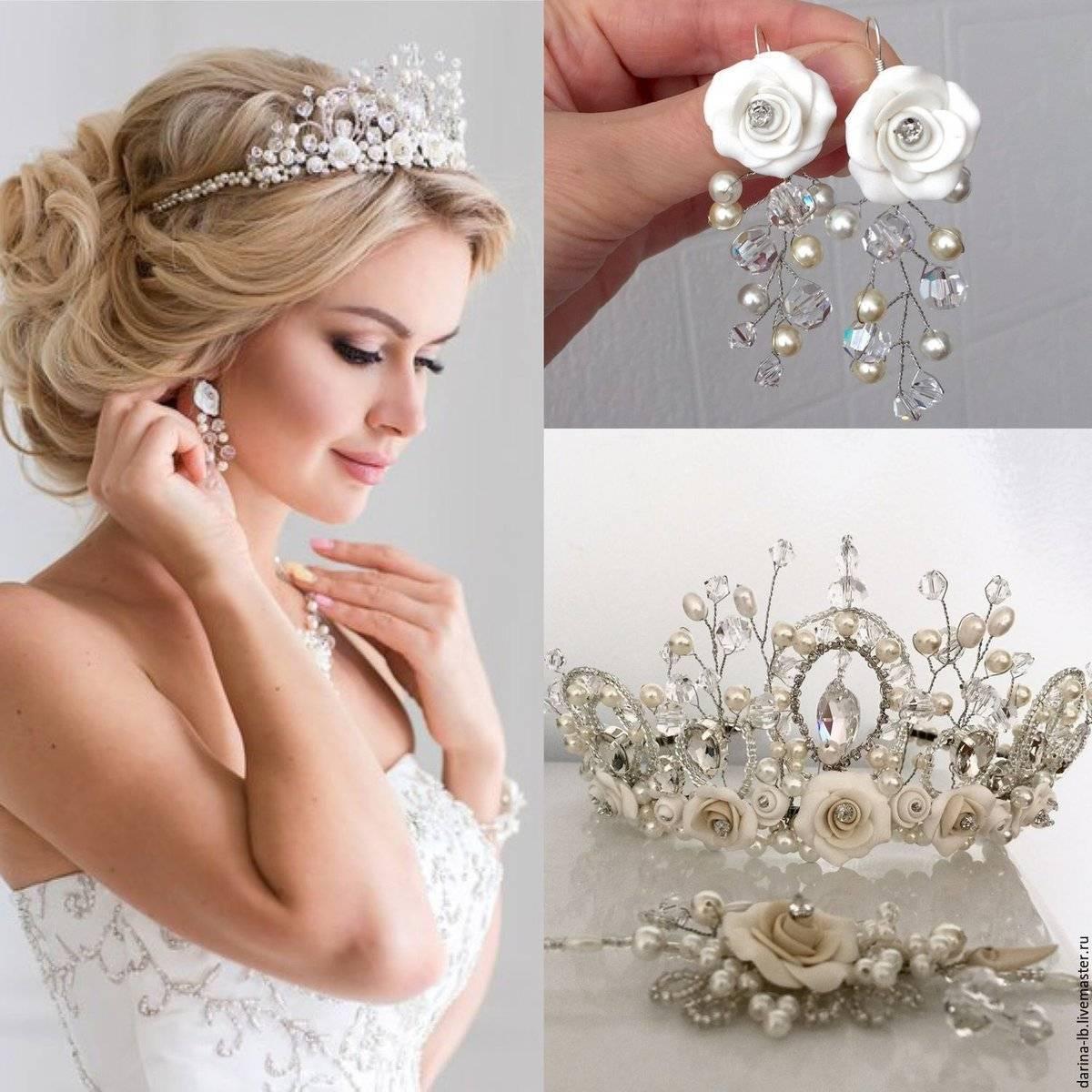 Свадебные украшения для невесты — расставляем акценты правильно