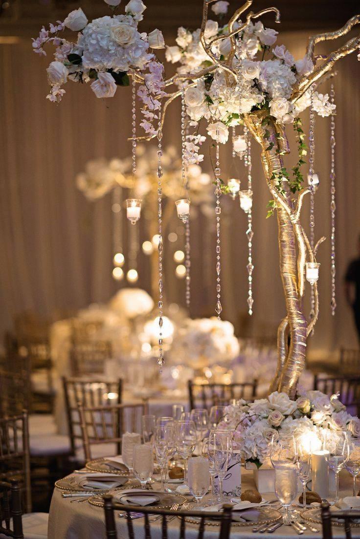 Подготовка к свадьбе в деталях: украшение свадебного стола