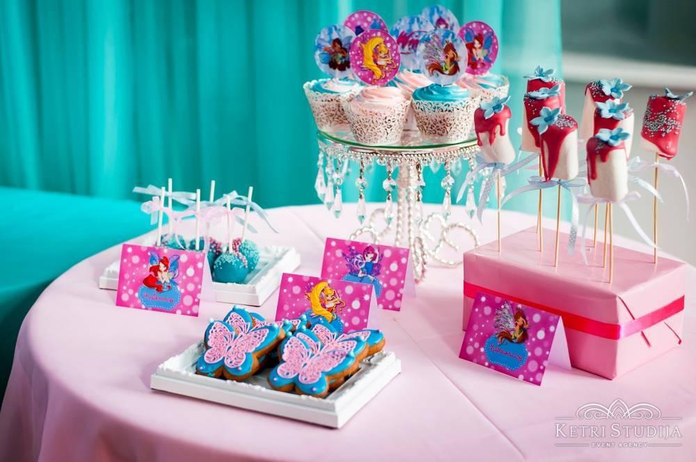 """Сценарий дня рождения девочки в стиле Винкс """"Сказочное путешествие"""""""