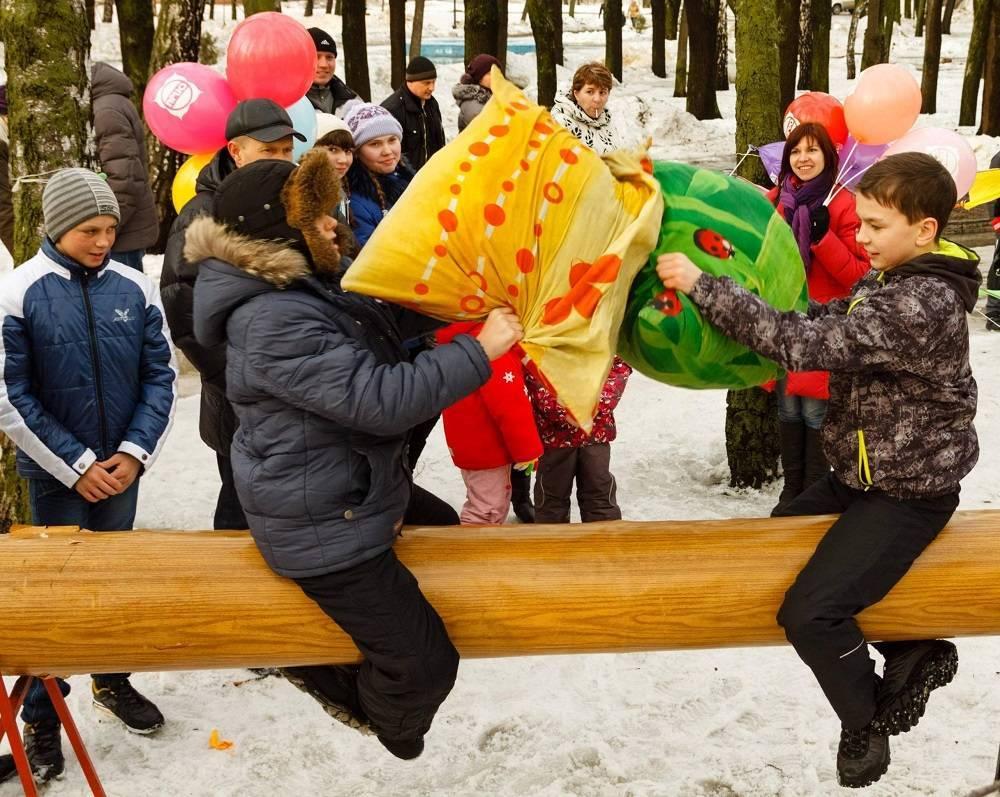 Подвижные и веселые игры и забавы на Масленицу