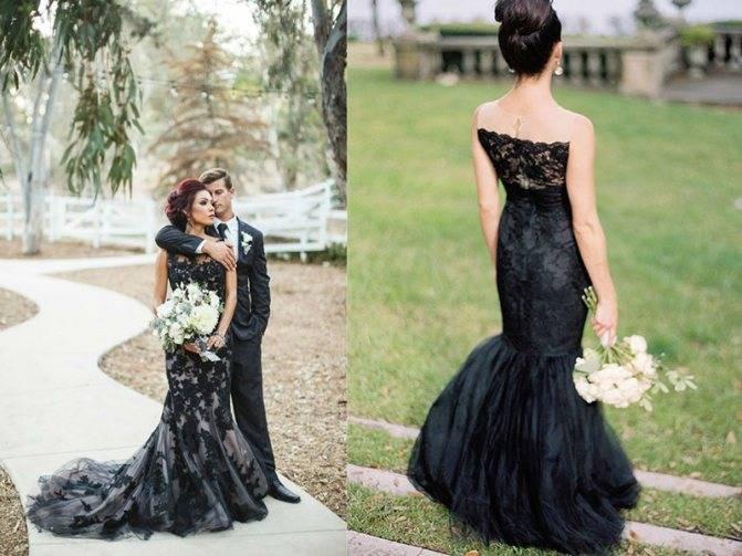 Черное свадебное платье: вызов традициям или способ выразить индивидуальность?