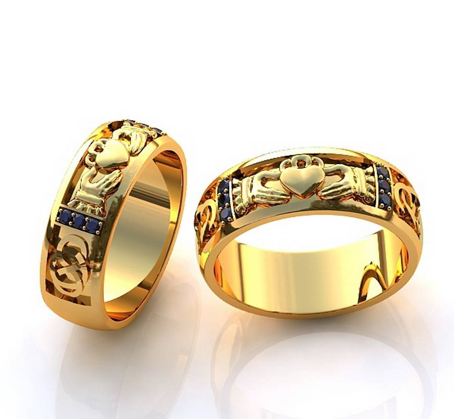 Мужские обручальные кольца: традиции и особенности выбора
