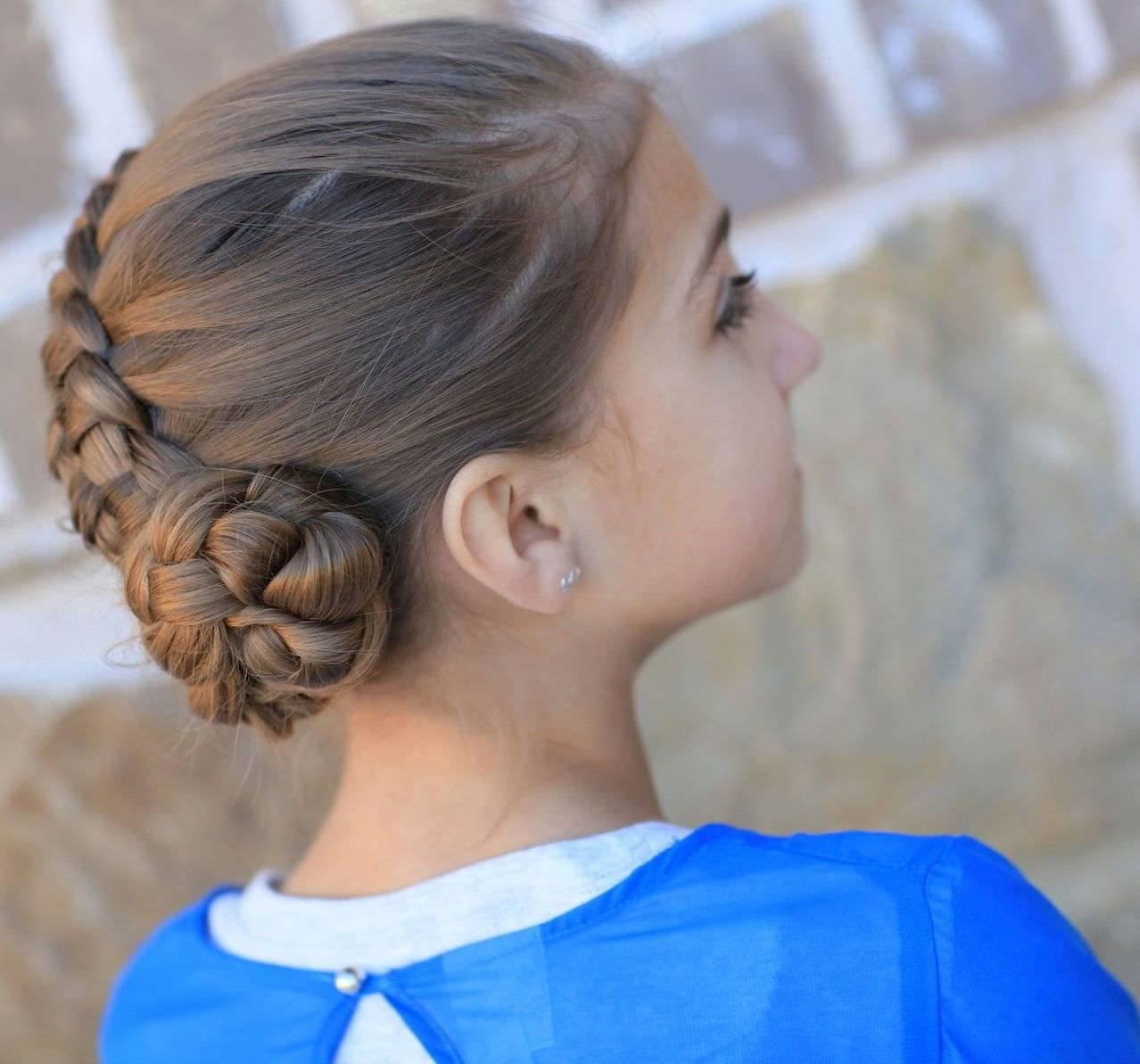 Варианты причесок на 1 сентября в 9 класс: лучше идеи с фото