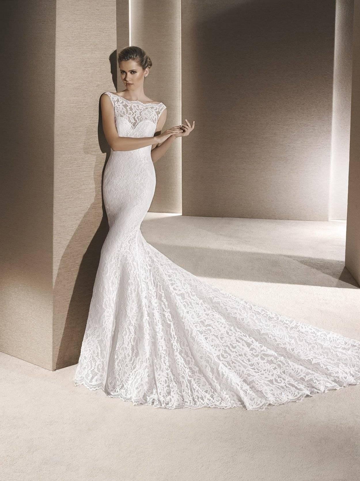 Кружевные свадебные платья — воздушно, нежно, романтично!