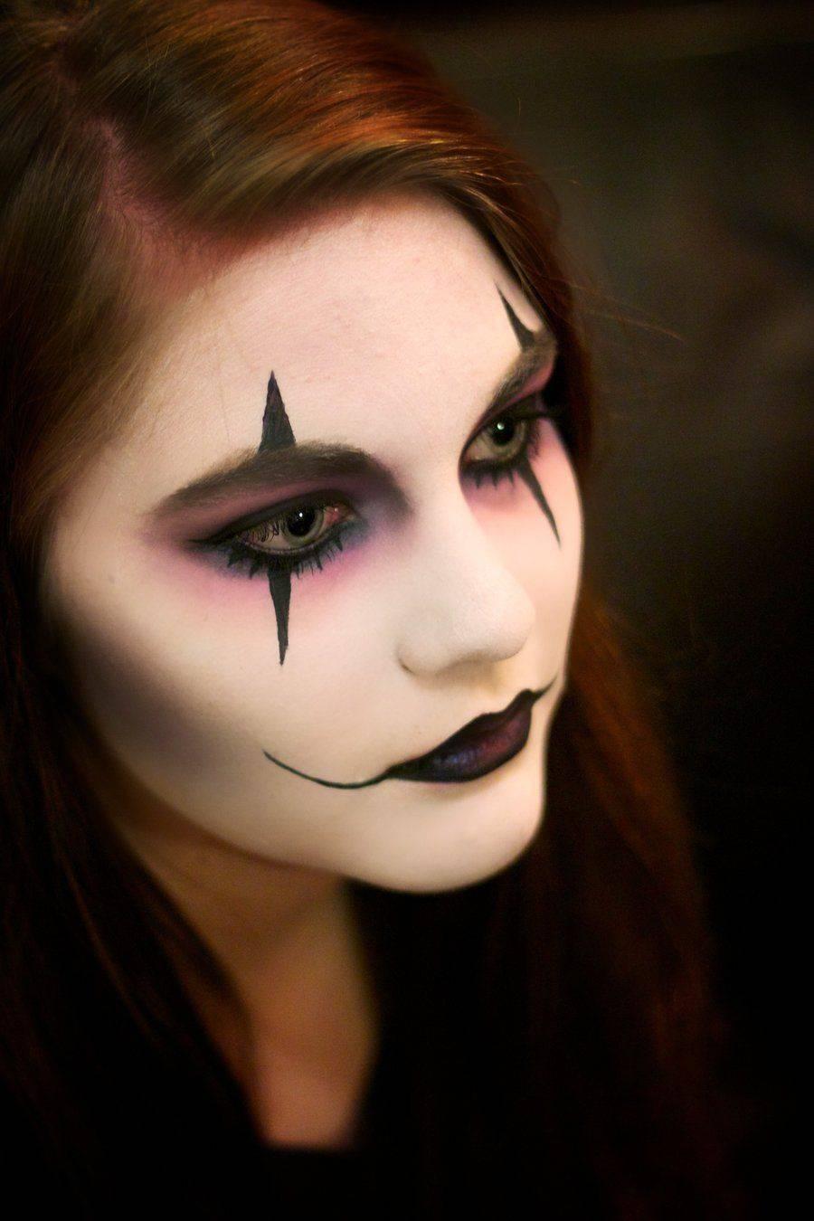 Макияж на Хэллоуин – несколько интересных версий