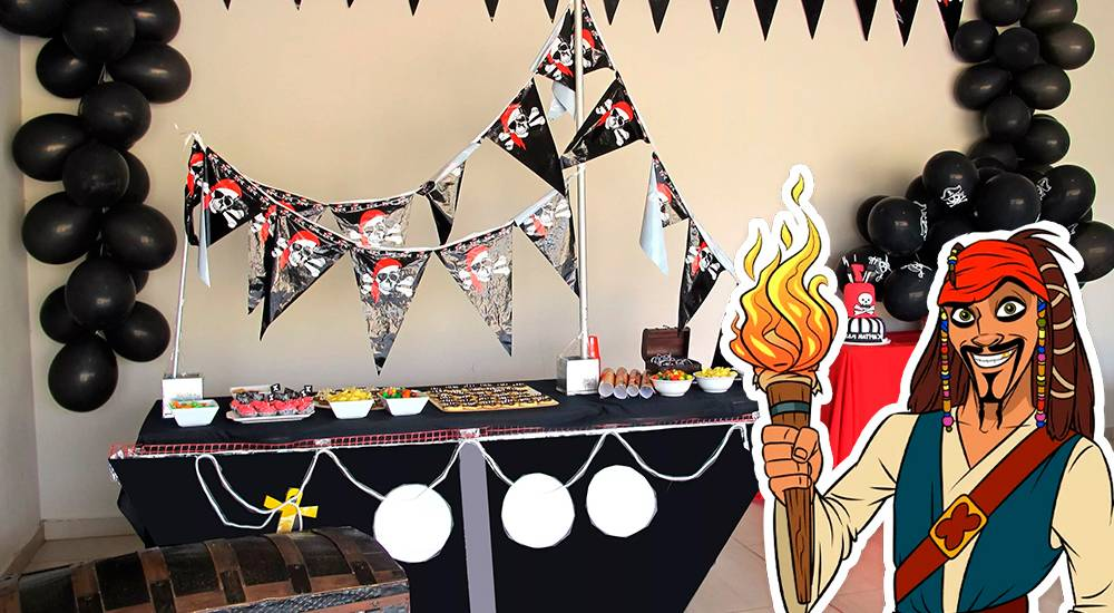 Новый сценарий новогодней вечеринки в пиратском стиле