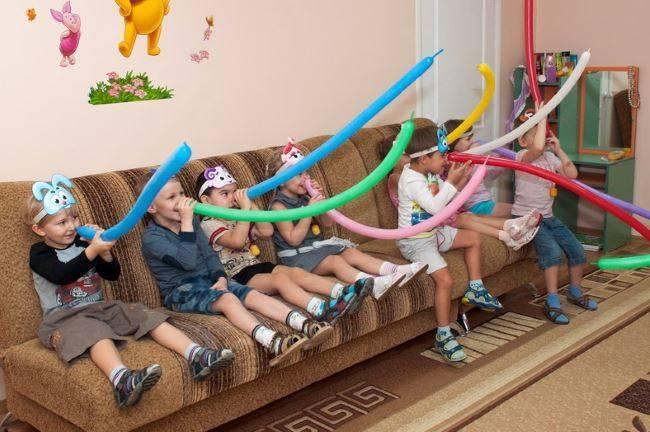 Все про детские игры на дне рождения