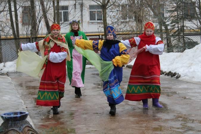"""Сценарий """"Народные сцены по поводу Проводов Русской Зимы"""""""