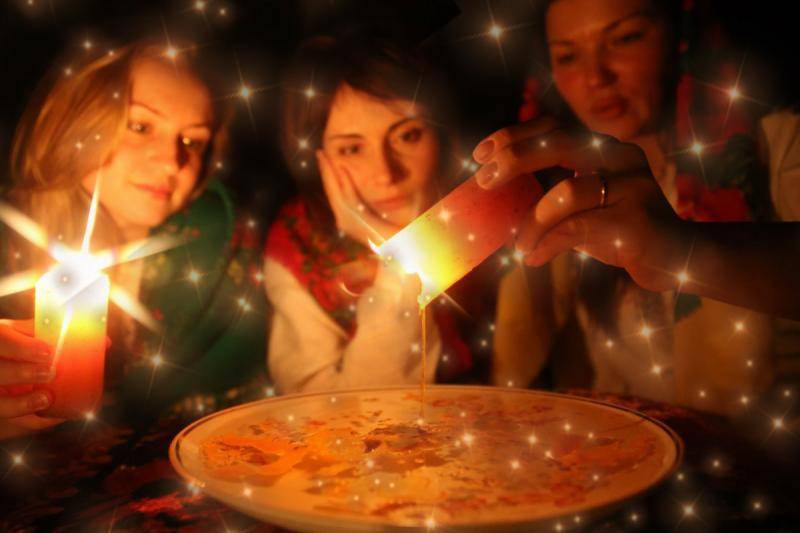 Святочные и рождественские гадания