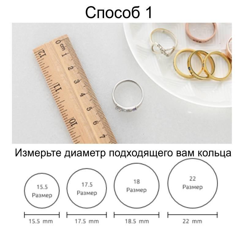 Как узнать размер кольца? Чтобы подарок пришелся впору