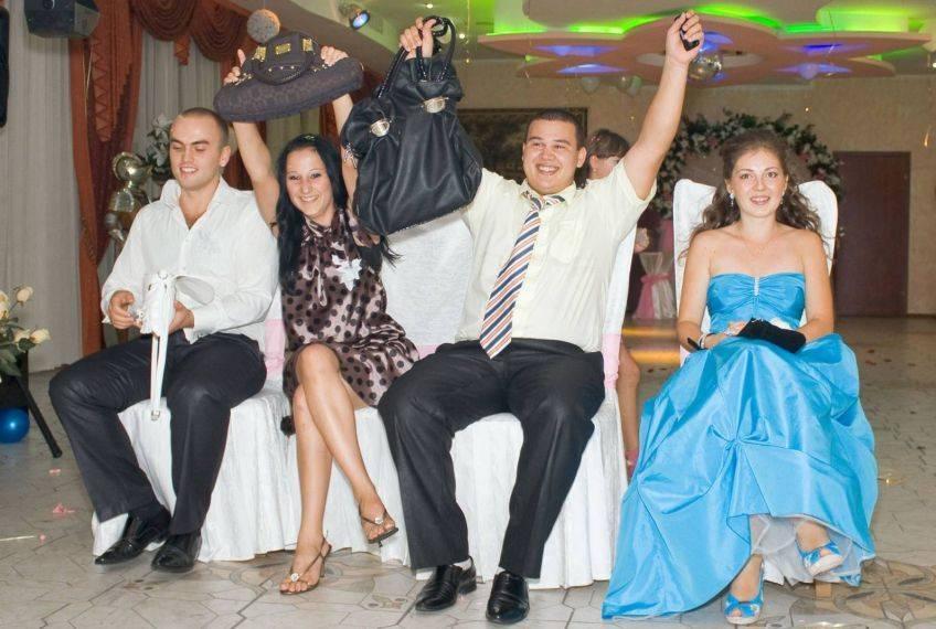 Застольные игры и конкурсы на свадьбе
