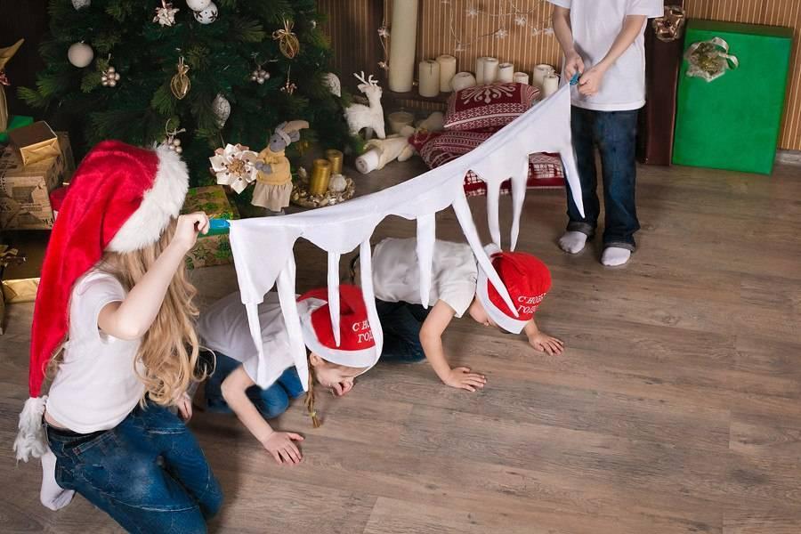 Мир глазами ребенка: подбираем новогодние игры