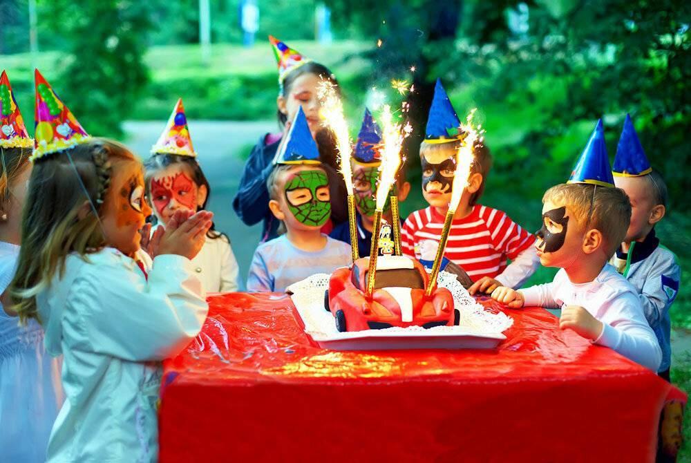 Тематический день рождения на примере автомобильного праздника