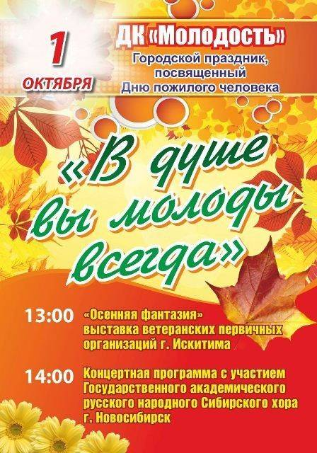 """Сценарий концертной программы """"День молодого пожилого человека"""""""