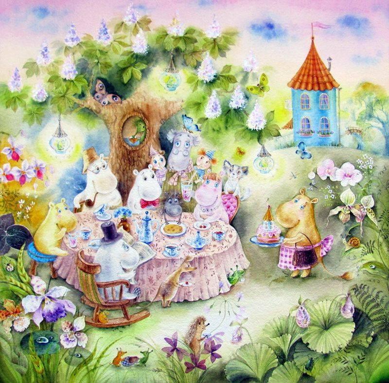 Сказка для детского дня рождения «Волшебный свисток»