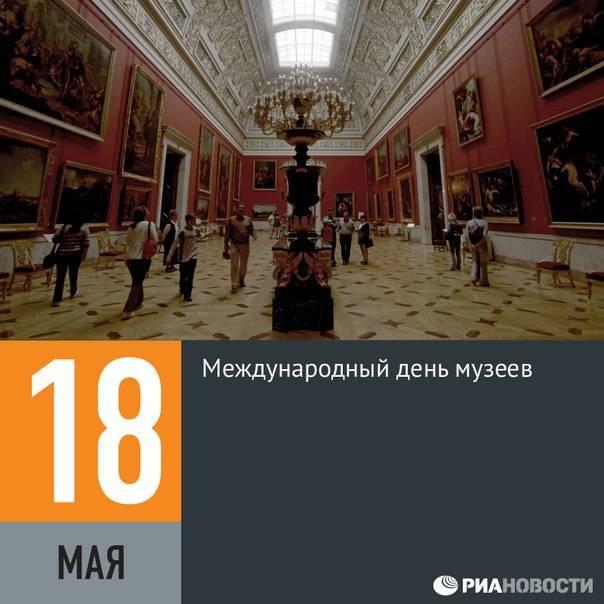 История праздника Международный день музеев 18 мая