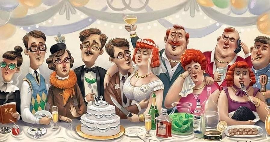 """Сценарий веселого праздника в семейной или дружеской компании """"УДачная вечеринка или Волшебные посиделки"""""""