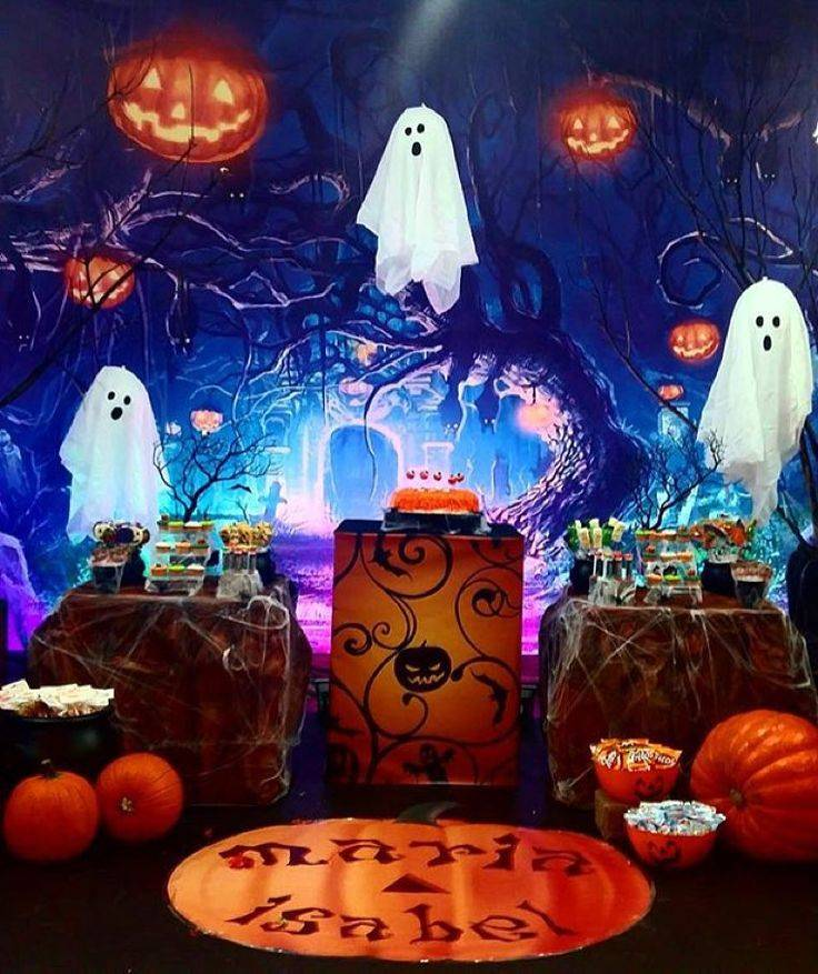 """Музыкальная игровая программа для вечеринки в стиле Хэллоуин """"Классно, аж, жуть"""""""
