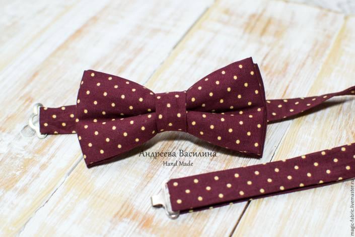 Бабочка-галстук своими руками, или Как сделать эксклюзивный аксессуар за 10 минут