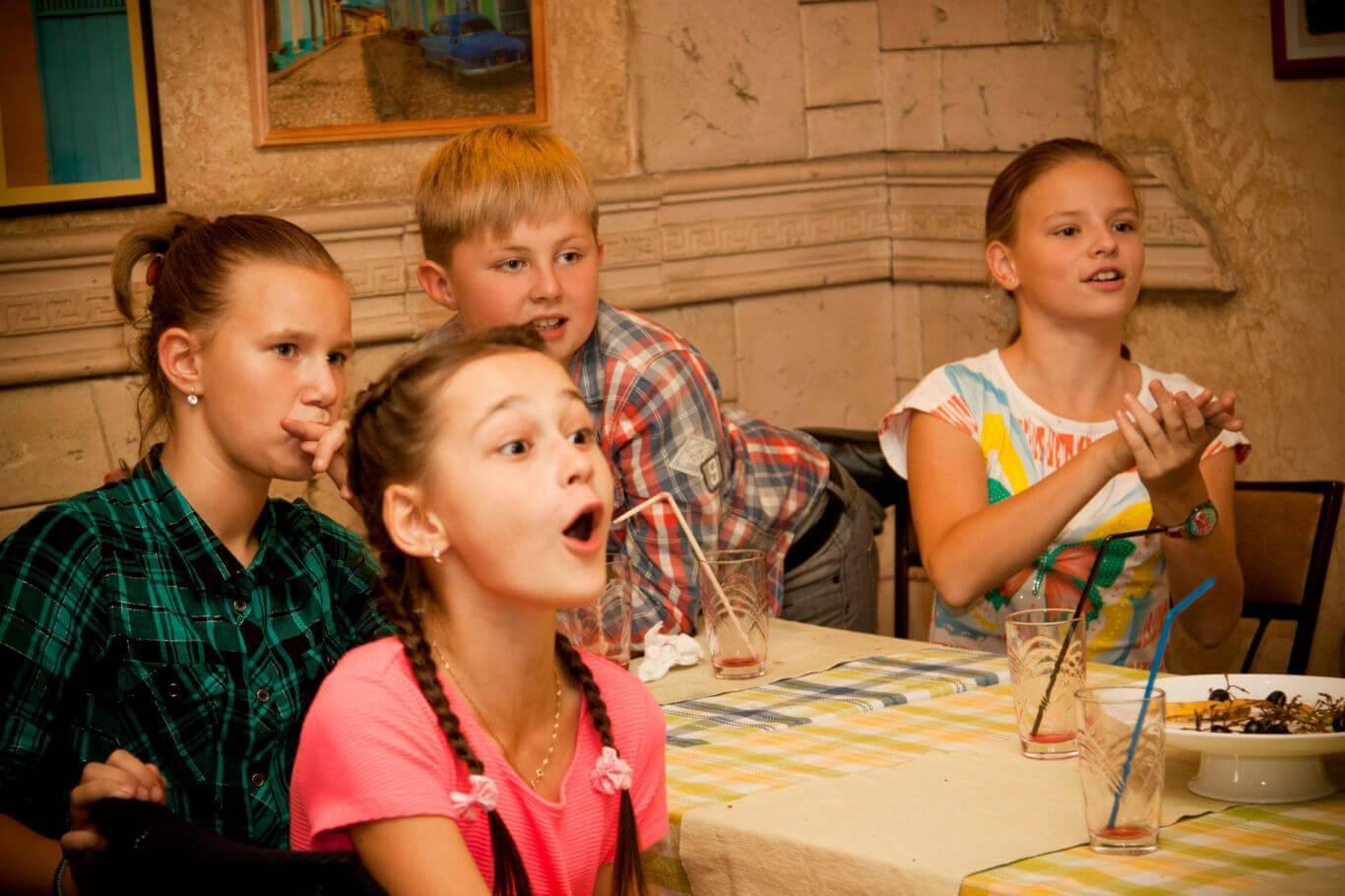 Забавные, веселые конкурсы, игры и развлечения на 11 день рождения