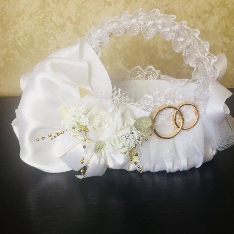 Свадебная корзина — изящный аксессуар церемонии
