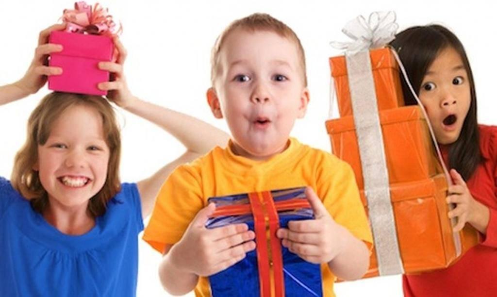 Несколько идей выбора подарков для детей
