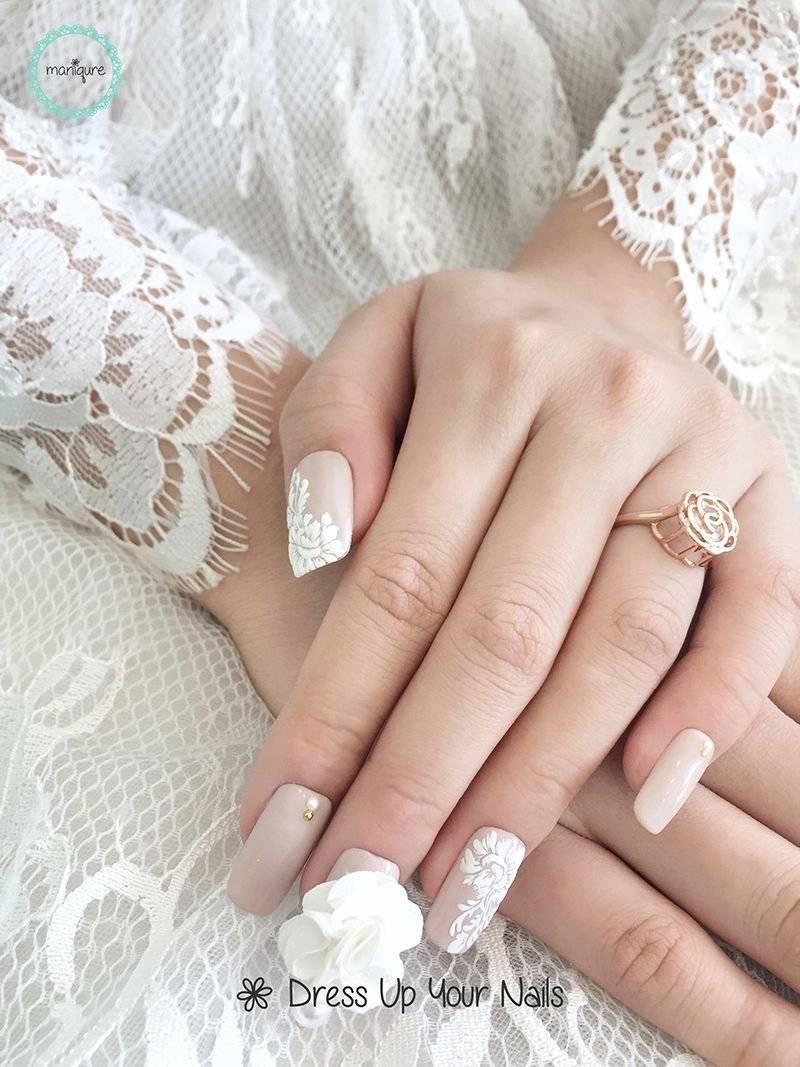 Свадебный маникюр: классические варианты и свежие идеи