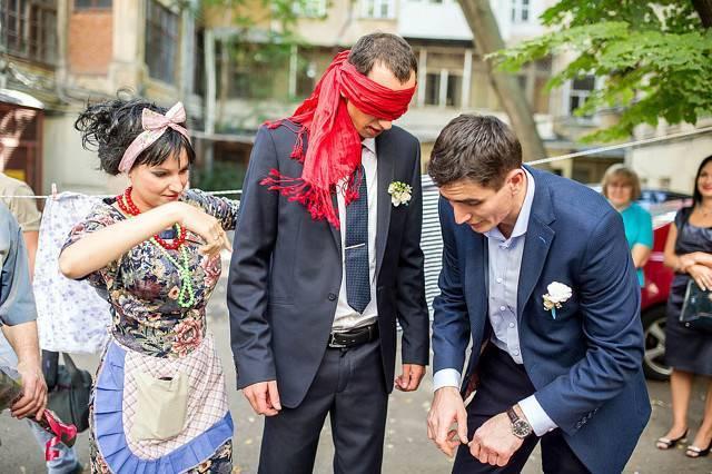 Оригинальный сценарий выкупа невесты в гангстерском стиле