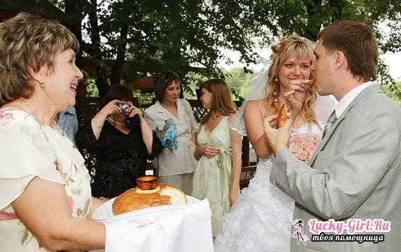 Благословение родителей на свадьбе: как должен проходить обряд