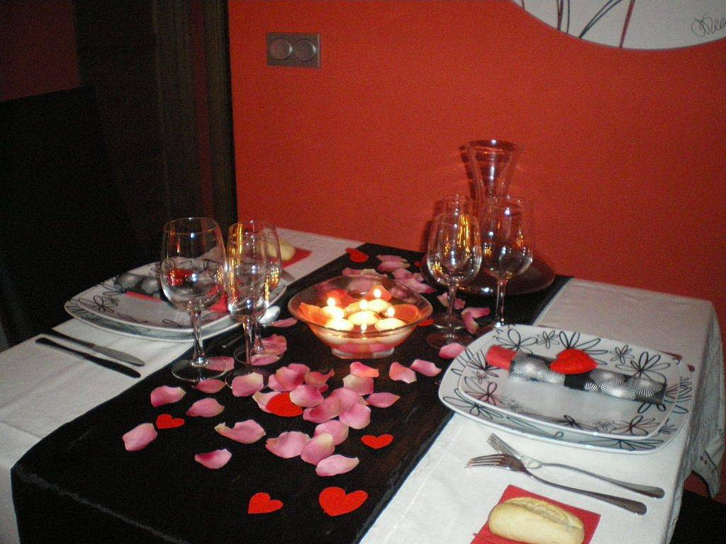 Романтический ужин для любимой — побудь исполнителем желаний!