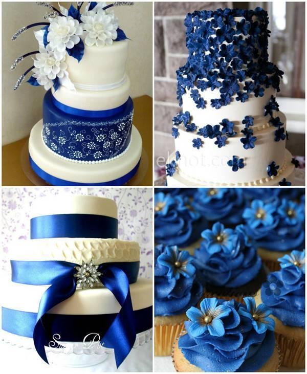Эта прекрасная свадьба в синем цвете!