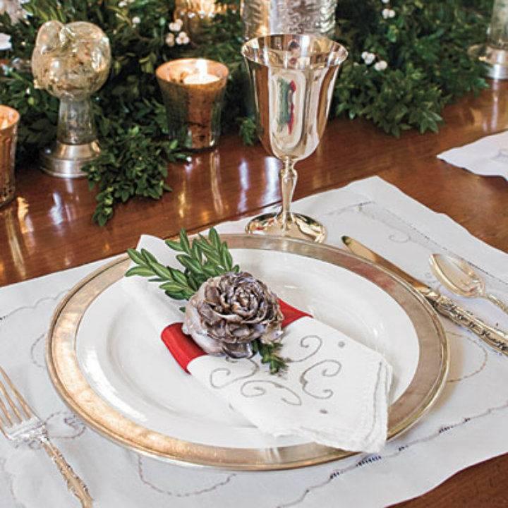 Кольцо для салфетки на праздничный стол