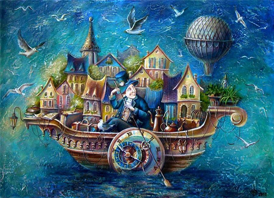 """Новая музыкальная сказка - экспромт в морском стиле """"Выбирай своё чудо"""""""