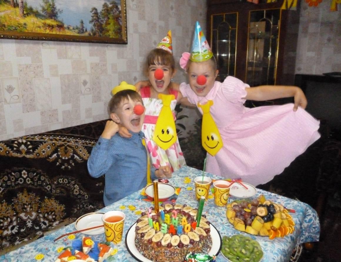 Интересные сценки для детского дня рождения