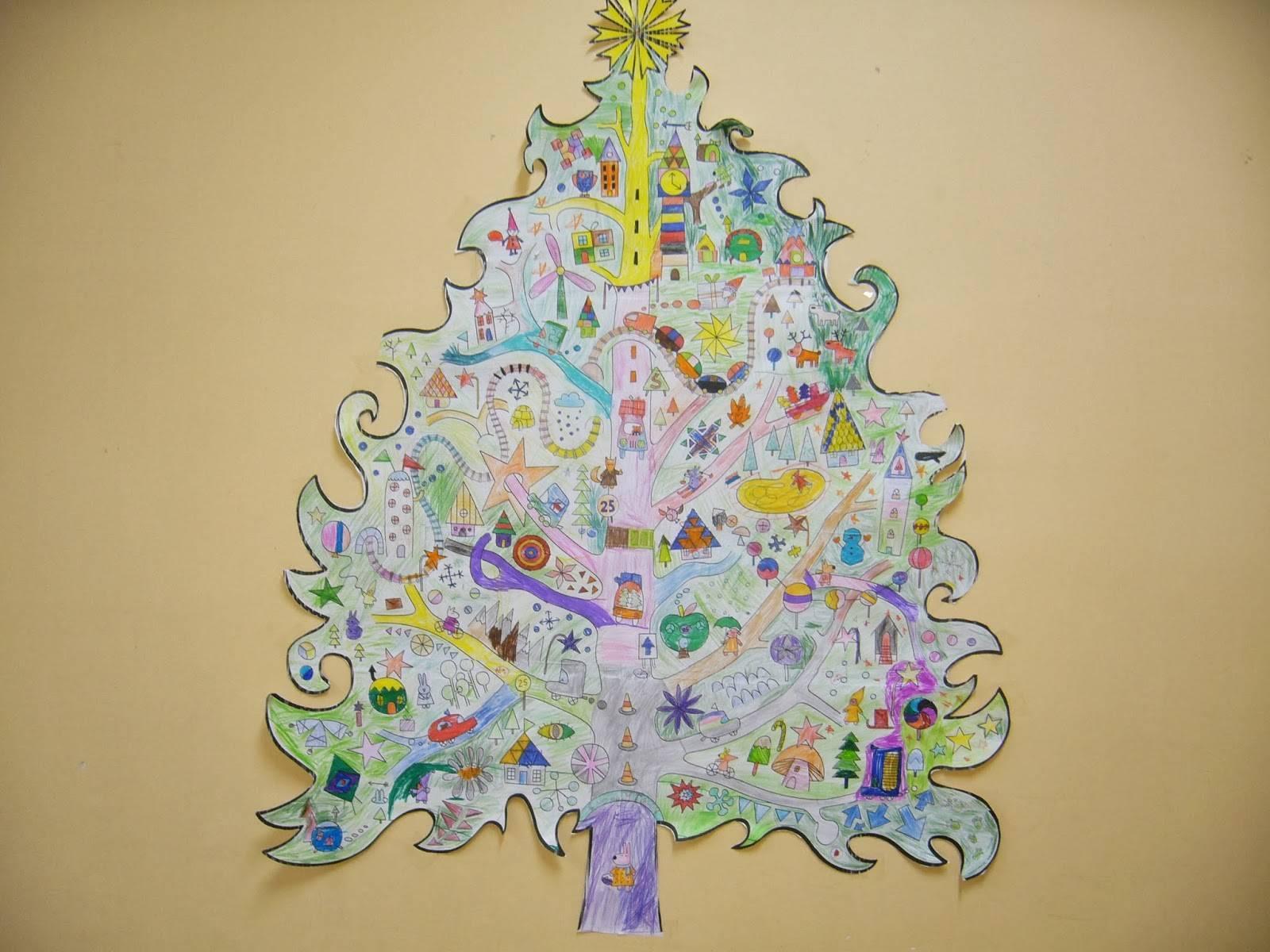 Сказочная новогодняя елка своими руками