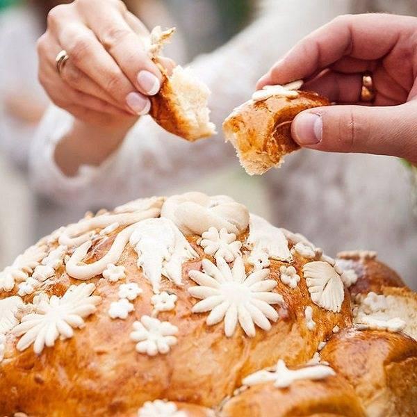Свадебный каравай — традиции и современность
