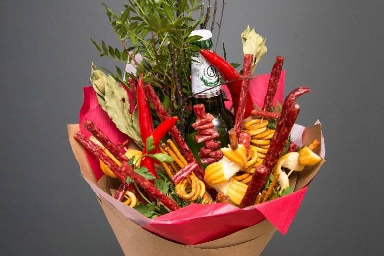 Мужской букет своими руками: идеи для любого праздника