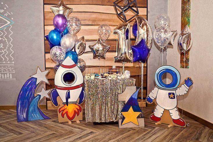 """Сценарий детского дня рождения """"Путешествие по планетам"""""""