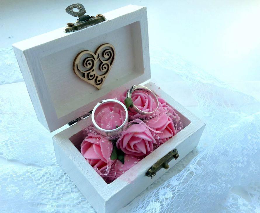 Свадебные хлопоты: выбираем коробочку для колец